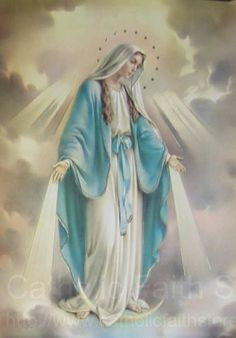 """Our Lady of Grace Large Poster - 19""""W x 27""""H from Catholic Faith Store (19"""" W x 27"""" H, Full Color)"""