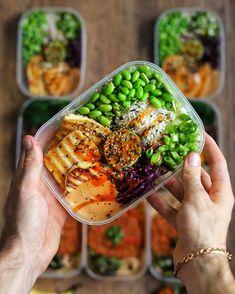 Vegan Athlete Meal Plan, Vegan Meal Prep, High Protein Vegan Recipes, Vegetarian Recipes, Vegan Protein, Vegan Foods, Healthy Recipes, Protein Pack, Protein Foods