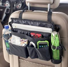 High Road make a fantastic range of high quality interior car accessories. The High Road XL Swingaway organiser is a larger version of the standard swingaway and gives your mobile phone, GPS, directions, mail and other important items a home of their own in the car - all in easy reach.:
