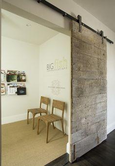 you need barn doors…