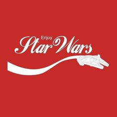 Enjoy Star Wars (Coca Cola logo parody) #Starwars