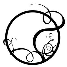Just a bug and some paper... a scrapbook I will be: Circle and swirls svg