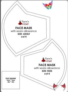 Sewing your own face mask to protect yourself from the coronavirus pandemic (wit... -  Sewing your own face mask to protect yourself from the coronavirus pandemic (with pattern and photo sewing instruction) #diy #facemask #facemaskdiy #facemaskpattern Source by 0t7wf3wz3f9jomp  -<br> Sewing Patterns Free, Free Sewing, Sewing Tutorials, Free Pattern, Pattern Sewing, Sewing Tips, Sewing Hacks, Sewing Crafts, Sewing Projects