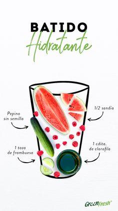 Healthy Bars, Healthy Juices, Healthy Smoothies, Healthy Drinks, Healthy Life, Healthy Recipes, Fruit Drinks, Detox Drinks, Health Diet