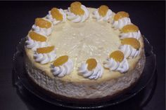 Mandarin Cheesecake from Bread Winners Cafe and Bakery in Dallas, TX