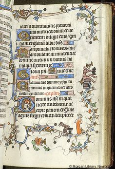 Book of Hours, MS M.754 fol. 35r - Images from Medieval and Renaissance Manuscripts - The Morgan Library & Museum