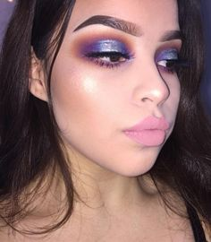 Pinterest: DeborahPraha ♥️ purple eyeshadow cut crease style #makeup