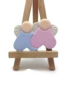Baptism Favors, Guardian Angel Favors, Magnet Favors, Twins Baptism, Twins Baby Shower Favors, Christening Decorations, Pack of 20 and 40
