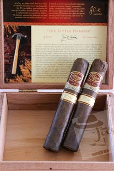 """""""Gorgeous dark brown, toothy wrapper"""" Padron Family Reserve 50 Year cigar"""