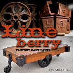 Your Lineberry Factory Cart Coffee Table supplies- IronAnarchy.com