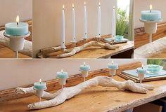 candle holder diy - Buscar con Google