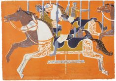 'Roundabout' by Robert Tavener, 1959 (lithograph)
