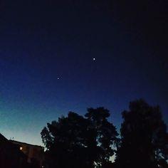 provocative-planet-pics-please.tumblr.com Fördelen med att gå upp tidigt är att man inte missar planeterna. #venus #jupiter #planets #stargazing #astro #astronomy #Stockholm #planet by minabirgitta https://instagram.com/p/82HunUTQXs/