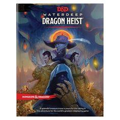 D&D Waterdeep Dragon Heist HC (D&D Adventure): Wizards RPG Team