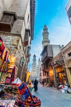 Cairo, Egypt. Definitely near the top of my list of places to go one day.!