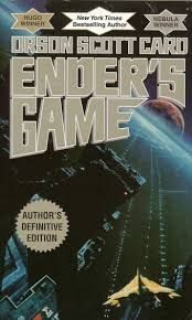Ender's Game by Orson Scott Card! If you like the game Halo, you'll love this book.