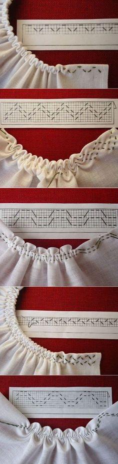 Ficam aqui umas ideias para terminarmos as golas ou as mangas dos nossos trabalhos de costura. Boas Costuras! Fonte:pinterest
