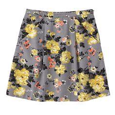 Winter Rose Pleat Front Skirt | Skirts | CathKidston