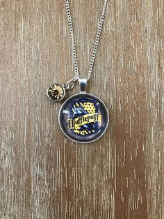 Hufflepuff Harry Potter Charm Necklace