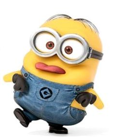 Despicable Me - John is a small two-eyed Minion with combed hair. He is the minion who acted like the boss of the workin