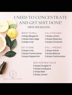 Focus for chores, work and study - Doterra essential oil diffuser blends by Nata. - Focus for chores, work and study – Doterra essential oil diffuser blends by Natalie Blackburne - Essential Oils Guide, Doterra Essential Oils, Spearmint Essential Oil, Essential Oil Candles, Elixir Floral, Essential Oil Combinations, Essential Oil Diffuser Blends, Aromatherapy Diffuser, Diffuser Recipes