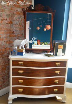 GORGEOUS dresser makeover