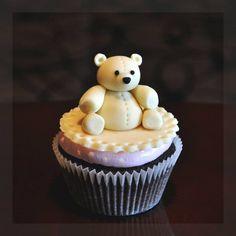 Bear cupcake #bear #cupcake