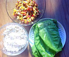 Raw Vegan Lettuce Wraps. A raw vegan recipe by Ella Clarke for Elephant Journal.