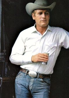 Paul Newman in #denim