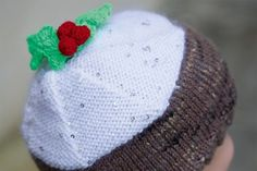 Just the ticket for adorable family photos, this scrumptious hat comes in child and adult sizes so you can make one for everyone! Head to our free Christmas pudding hat knitting pattern to cast on today.