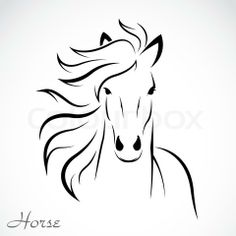 6538023-462001-vector-image-of-an-horse.jpg (480×480)