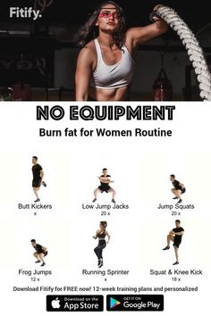 Burn fat fast with this workout!