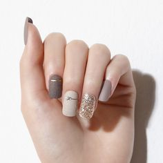 Fancy Nails Designs, Manicure Nail Designs, Classy Nail Designs, Acrylic Nail Designs, Neutral Nail Designs, Best Nail Art Designs, Winter Nail Designs, Elegant Nails, Stylish Nails