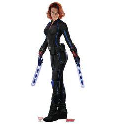 Age of Ultron Black Widow Cardboard Cutouts - Natasha Romanoff  Best Price