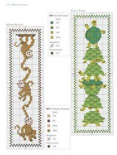 Ponto Cruz da Drayzinha: Graficos marcadores de livros