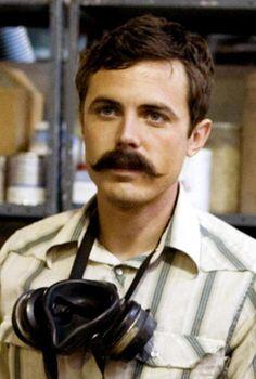 Mustache Gallery Casey Affleck Ocean's Eleven