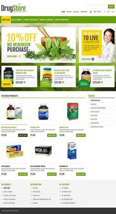 10+ Great Drug Store, Chemist & Nutritrition Supplies Store PrestaShop Themes - Responsive Drug Store