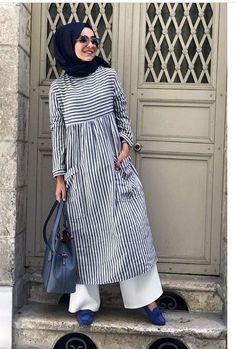 Ashfiya❤ – Best Of Likes Share Modern Hijab Fashion, Muslim Women Fashion, Islamic Fashion, Abaya Fashion, Modest Fashion, Fashion Dresses, Moslem Fashion, Mode Abaya, Muslim Dress