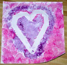 Pretty Purplexing: Valentine Art Projects for kids