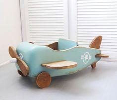 Wooden plane от WoodenProps на Etsy