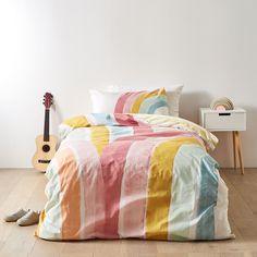 Callie Quilt Cover Set | Target Australia Princess Bedrooms, Big Girl Bedrooms, Girls Bedroom, Rainbow Bedding, Rainbow Quilt, Home Bedroom, Bedroom Furniture, Bedroom Ideas, Textiles