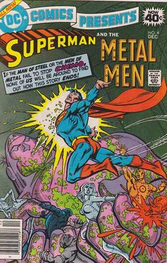 DC Comics Presents #4 Very Fine/Near Mint $12.00 ~   DC Comics Presents was a comic book published by DC Comics from 1978 to 1986 (97 issues plus 4 annuals) featuring team-ups between Superman and a wide variety of other characters of the DC Universe.