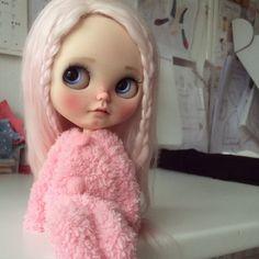RESERVED for Jill Kona custom Blythe doll by por Jodiedolls