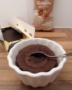Low Carb Tassenkuchen mit Schoko Geschmack