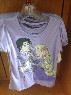 "Downtown Disney Merchandise Update: Disney Princesses, ""Tiki""-wear and Park Signs! | DisneyLifestylers Rapunzel tee"