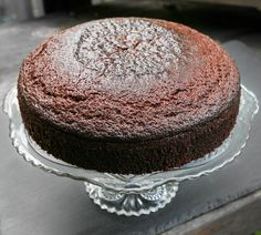Blackstrap Molasses and Fresh Ginger Cake is a dark, moody, and moist ...