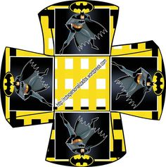 Lembrancinha Batman Cachepo