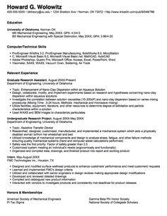 graduate student sample resume httpresumesdesigncomgraduate student - Journeyman Electrician Resume Examples