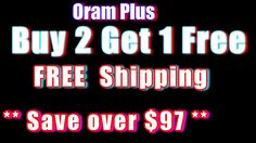 Oram Plus | Buy 2 Get 1 Free - Free Shipping | Oram Plus Review