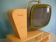 Predicta Chalet color TV by PredictaMike, via Flickr  Oh my goodness, so much awesome!